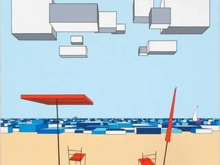 """""""Il mare sul retro II"""": Arte in stile  di Giuseppe Castelli - Artista"""
