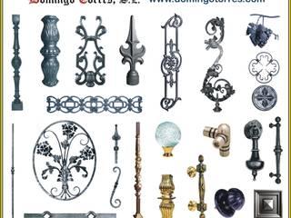 Piezas para la cerrajería artística:  de estilo industrial de Domingo Torres, S.L., Industrial