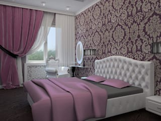 Classic style bedroom by K&D Classic