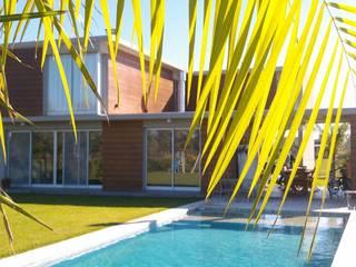 Modern houses by Desarrollos Proyecta Modern