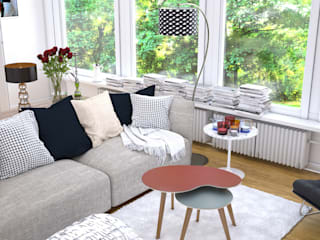 Osmose le bois Living roomSide tables & trays