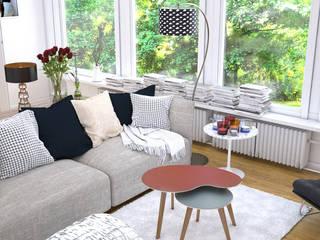 Les tables basses NUBES par Osmose le bois Scandinave