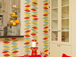 Appartement Laborderie Salle à manger originale par lara stancich interior design Éclectique