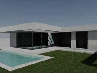 Casa JCC: Casas de estilo minimalista por CALVENTE - TIÓN Arquitectas