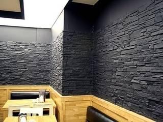 Vardek Varlıbaş Dekorasyon – Fiber Taş, Tuğla, Ahşap Duvar Panelleri:  tarz Duvarlar