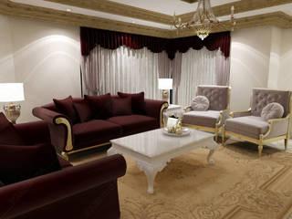 Özel Ev Tasarımı Klasik Oturma Odası Fabbrica Mobilya Klasik