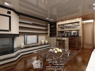 Salones de estilo  de Бюро домашних интерьеров, Moderno