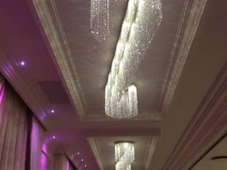 realizzazione di corpi illuminanti per il ristorante Beauty Garden  a Biancavilla CT:  in stile  di spinella illumina fabbrica lampadari