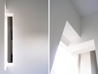 LEEFZOLDER | atelier:  Studeerkamer/kantoor door WEBERontwerpt | architectenbureau, Modern