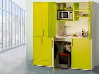 pro-art designLINE Schrankküchen Moderne Küchen von lemoboo AG Modern