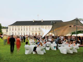 Projekt - Sommerfest Schloß Bellevue:  Veranstaltungsorte von MDT Sonnenschutzsysteme GmbH