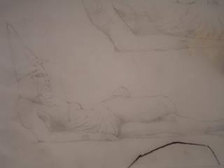 MURALES BERTINI Pareti & Pavimenti in stile classico di ELISA POSSENTI ART Classico