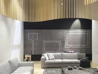 Modern Living Room by FRIUL MOSAIC Modern