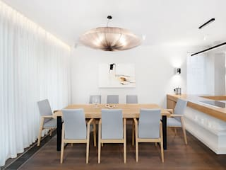 razoo-architekci Modern dining room