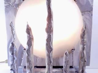 Lampe ; pièce unique:  de style  par Thierry Dhaine