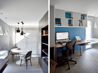 Aménagement et décoration d'une maison à Genève Marion Lanoë Bureau moderne