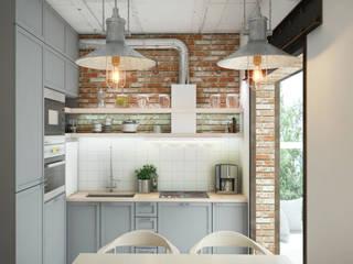 Cocinas industriales de Circle Line Interiors Industrial