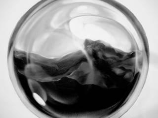 Черная сфера : Спальни в . Автор – Sergei Zyrianov , Скандинавский