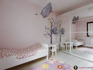 Chambre d'enfant moderne par Urządzamy pod klucz Moderne