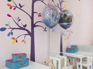 Dormitorios infantiles de estilo moderno de Urządzamy pod klucz Moderno