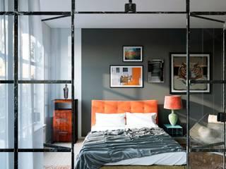 北欧スタイルの 寝室 の Artur Akopov 北欧