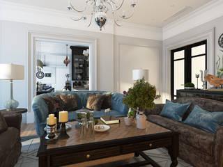 Salas de estilo clásico de Александра Клямурис Clásico