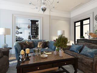 Klasik Oturma Odası Александра Клямурис Klasik