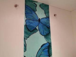 Бабочки Морфо: Спальни в . Автор – Sergei Zyrianov