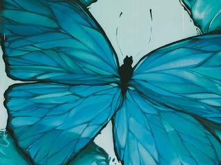 Бабочки Морфо: Спальни в . Автор – Sergei Zyrianov , Средиземноморский