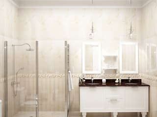 Classic style bathroom by Мастерская дизайна INDIZZ Classic