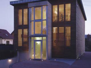 Maisons modernes par Atelier Loegler Architekci Moderne