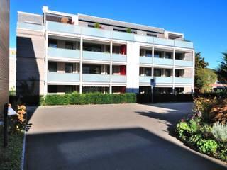 Wohnen im preisgekrönten Minergie--P-Eco Haus: moderne Häuser von Honegger Architekt AG