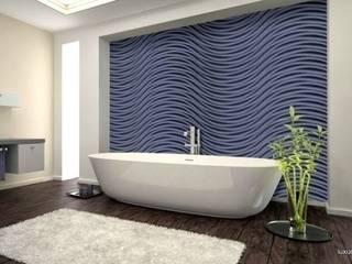 Panele dekoracyjne MDF 3D Nowoczesna łazienka od Luxum Nowoczesny