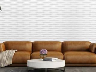 Panele dekoracyjne MDF 3D Nowoczesny salon od Luxum Nowoczesny