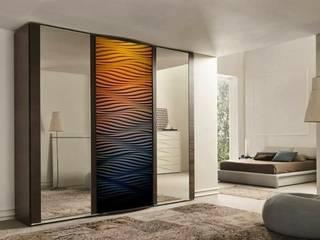 Decorative panels MDF 3D Modern dressing room by Luxum Modern