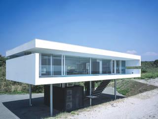東シナ海を望む家 アトリエ環 建築設計事務所 モダンな 家