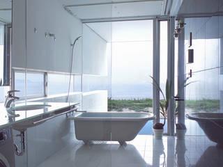 アトリエ環 建築設計事務所 Modern bathroom