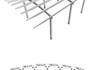 Jak samodzielnie pobudować drewniany garaż?: styl , w kategorii  zaprojektowany przez Jagram SA - Drewniana Architektura Ogrodowa