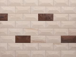 EDIT wall tiles: modern  by Dome., Modern