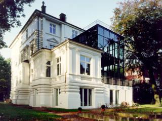 Villa an der Alster Moderne Häuser von Andreas Edye Architekten Modern
