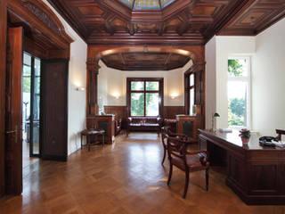 Villa an der Alster Klassische Arbeitszimmer von Andreas Edye Architekten Klassisch