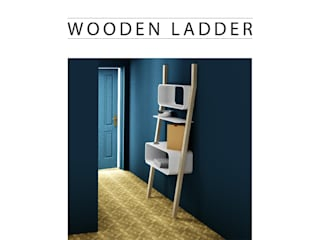 WOODEN LADDER par SLOWOOD / MOUVANCE DESIGN Minimaliste