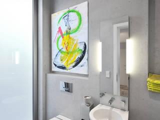 Baños de estilo  por Architekten Spiekermann
