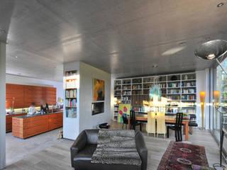 Projekty,  Salon zaprojektowane przez Architekten Spiekermann