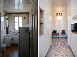 Appartement 3 pièces 62m2 par Créateurs d'intérieur Bordeaux