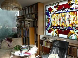 od Catherine Nafziger - Atelier Kats Vitrail Eklektyczny