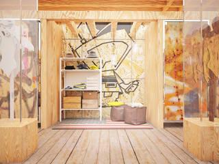"Проект интерьера бутика ""Street style"": Офисы и магазины в . Автор – Александра Мовчан"