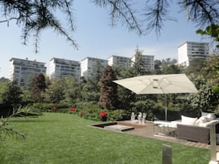 PAISAJE MEXICANO Minimalist style garden