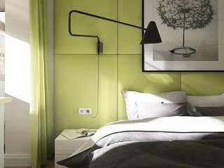 Dormitorios de estilo ecléctico de MONTE FEE INTERIOR DESIGN STUDIO