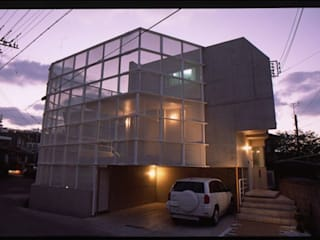 アアキ前田 株式会社 現代房屋設計點子、靈感 & 圖片